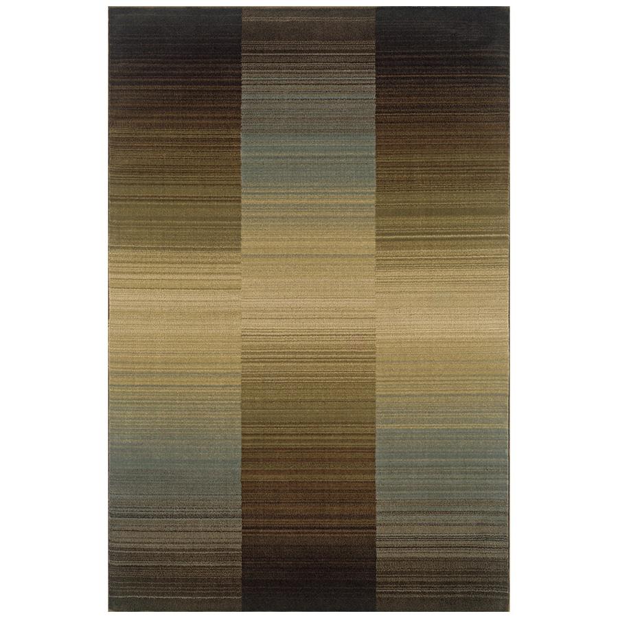 Sedia Home Zillah Multicolor Rectangular Indoor Woven Area Rug (Common: 8 x 10; Actual: 94-in W x 120-in L)