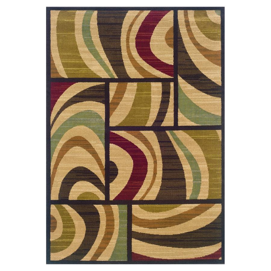 Oriental Weavers of America Jayden Rectangular Indoor Woven Area Rug (Common: 8 x 11; Actual: 92-in W x 130-in L)