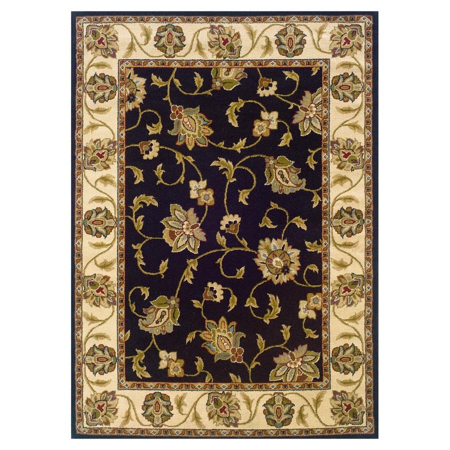 Oriental Weavers of America Addison Black Rectangular Indoor Woven Nature Area Rug (Common: 10 x 13; Actual: 118-in W x 153-in L)
