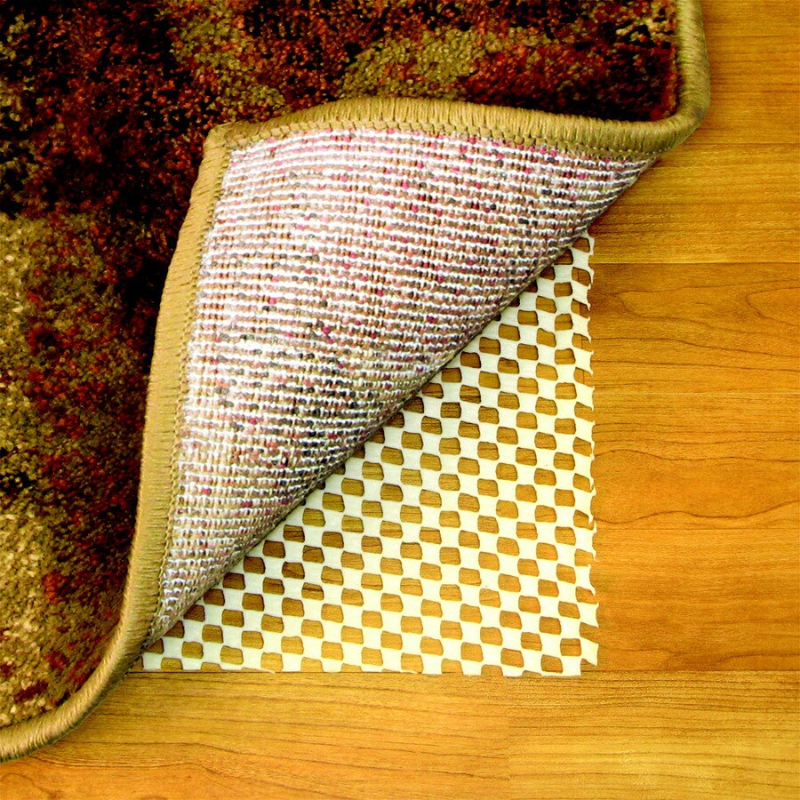 """Style Selections 1'8""""W x 7'8""""L Hard Surface Plus Rug Pad"""