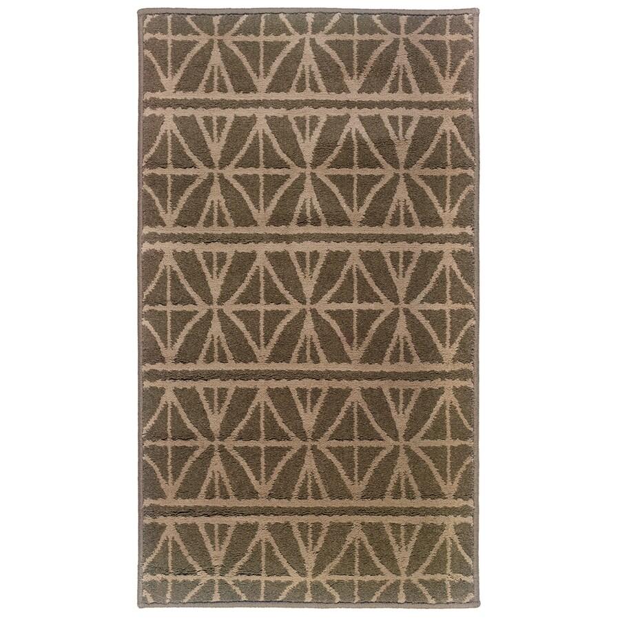 allen + roth Keesport Rectangular Indoor Woven Throw Rug (Common: 2 x 3; Actual: 22-in W x 39-in L)