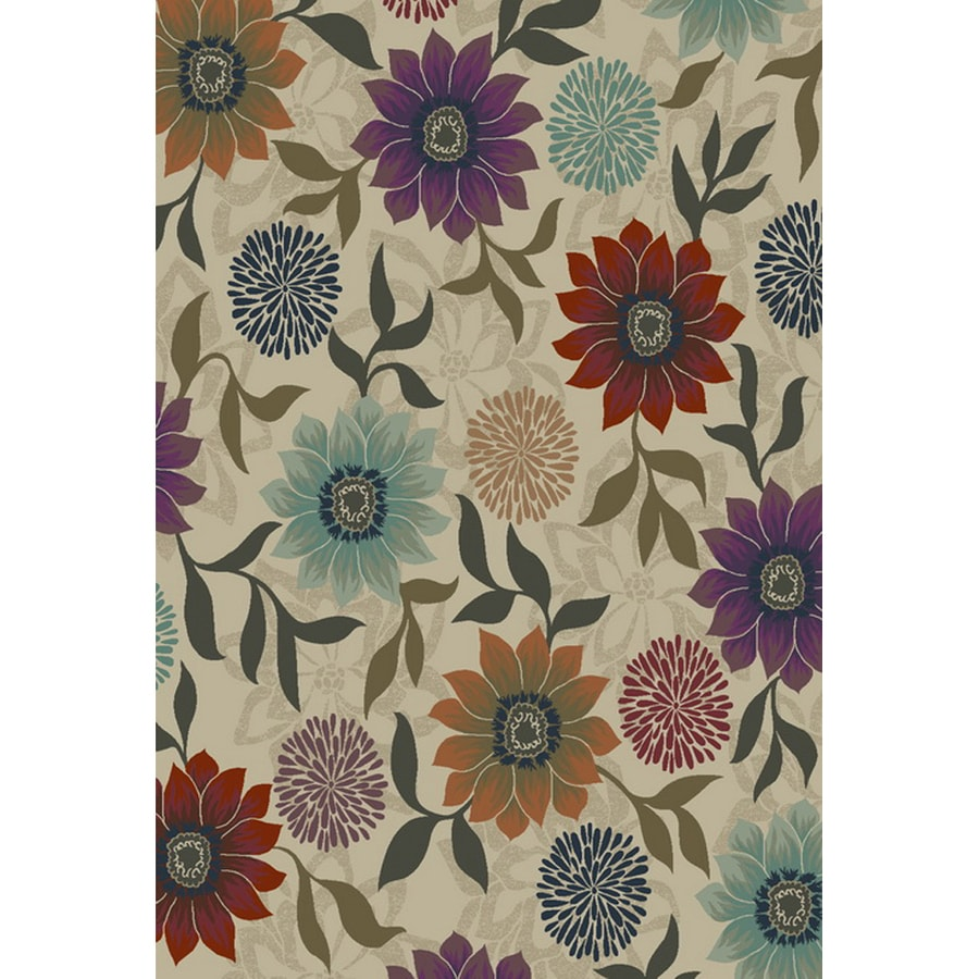 Oriental Weavers of America Cumberland Beige Rectangular Indoor Woven Nature Area Rug (Common: 10 x 13; Actual: 118-in W x 153-in L)