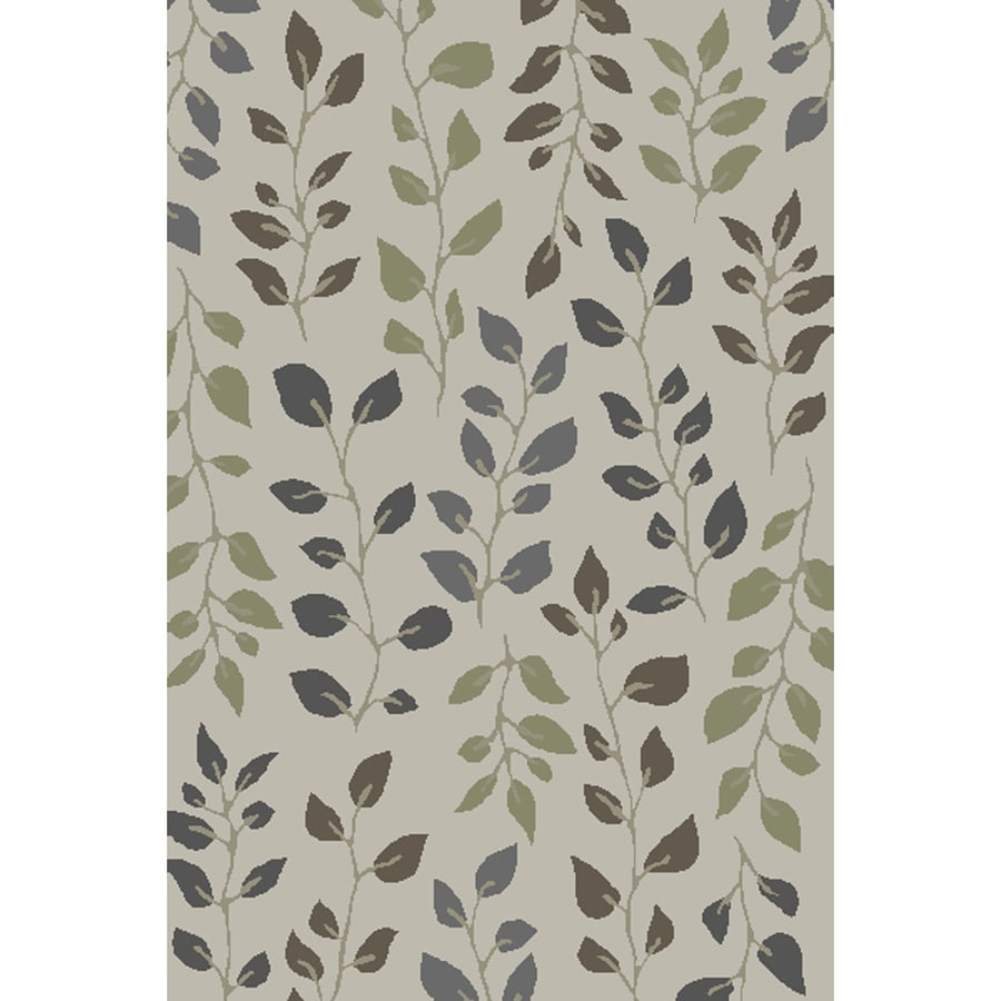 allen + roth Braymar Rectangular Cream Floral Hand-Hooked Area Rug (Common: 10-ft x 13-ft; Actual: 10-ft x 13-ft)