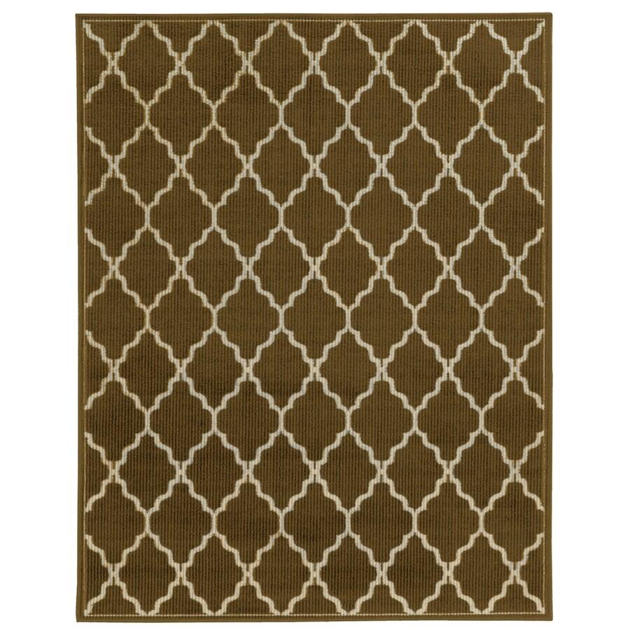 Oriental Weavers of America Stella Gold Rectangular Indoor Tufted Area Rug (Common: 5 x 7; Actual: 60-in W x 79-in L)