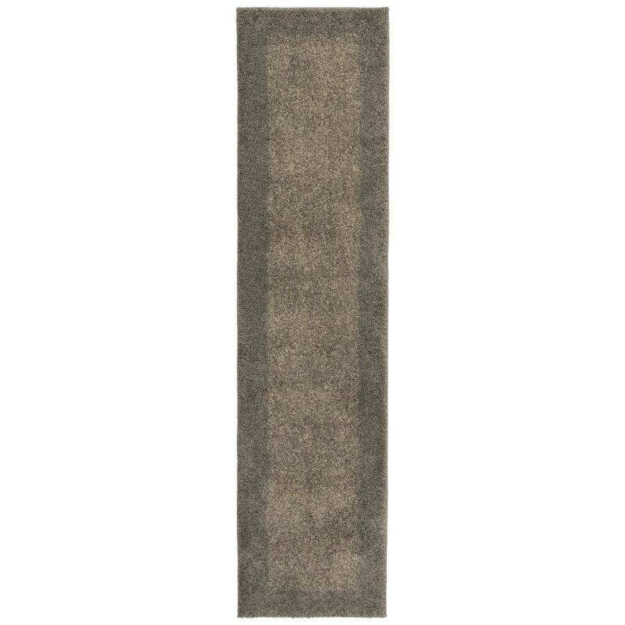 allen + roth Covenshire Gray Rectangular Indoor Woven Runner (Common: 2 x 8; Actual: 22-in W x 90-in L)