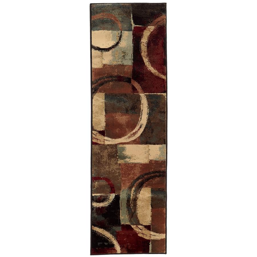 Oriental Weavers of America Sheridan Multicolor Rectangular Indoor Woven Runner (Common: 2 x 8; Actual: 22-in W x 90-in L)