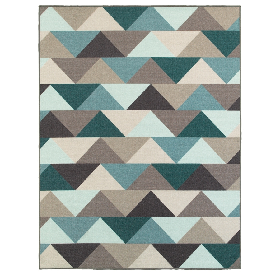 Oriental Weavers of America Haven Multicolor Rectangular Indoor Tufted Area Rug (Common: 5 x 7; Actual: 60-in W x 79-in L)