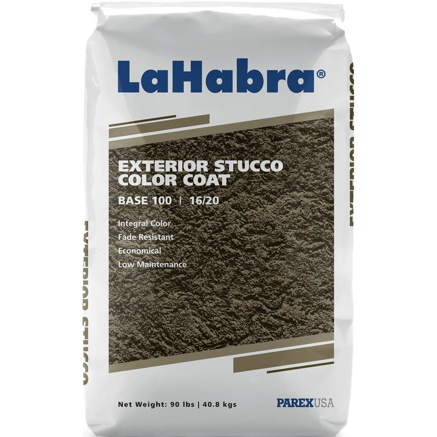 LaHabra 90-lb White Stucco Color Mix