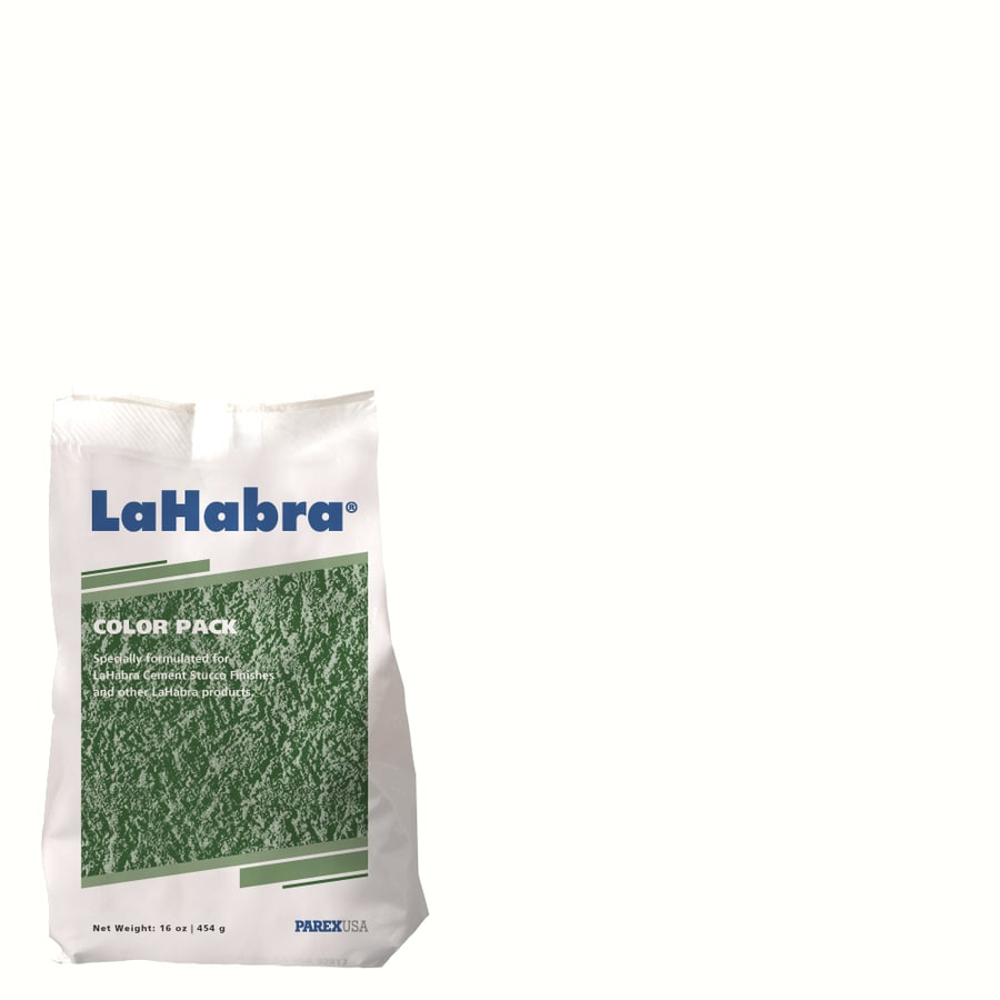LaHabra 1-lb White Stucco Color Mix