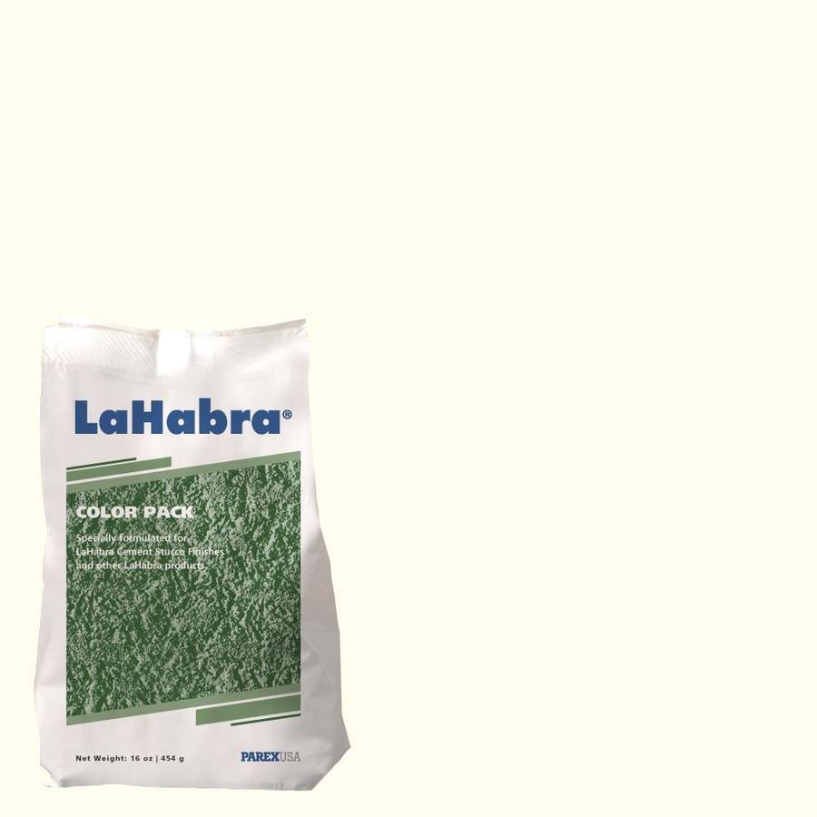 LaHabra 1-lb Off-White Stucco Color Mix