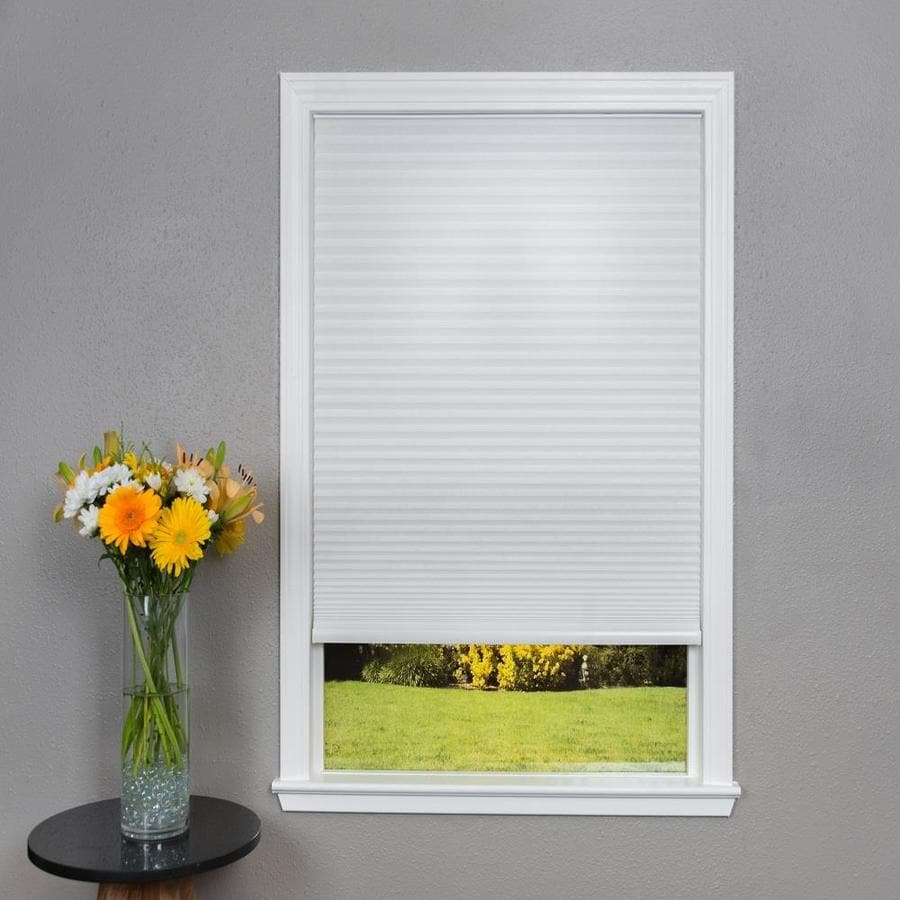 Redi Shade White Light Filtering Cordless Polyester Cellular Shade (Common 36-in; Actual: 35.75-in x 64-in)