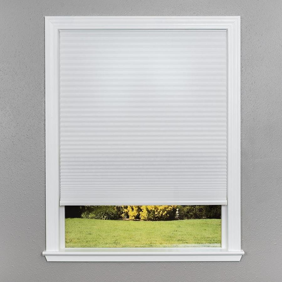 Redi Shade White Light Filtering Cordless Polyester Cellular Shade (Common 48-in; Actual: 47.75-in x 64-in)