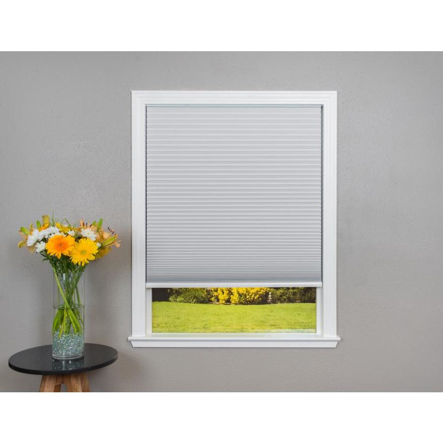 Redi Shade White Blackout Cordless Polyester Cellular Shade (Common 48-in; Actual: 47.75-in x 64-in)