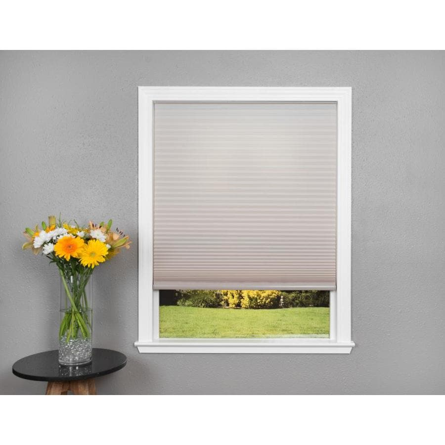 Redi Shade Natural Light Filtering Cordless Polyester Cellular Shade (Common 36-in; Actual: 35.76-in x 64-in)