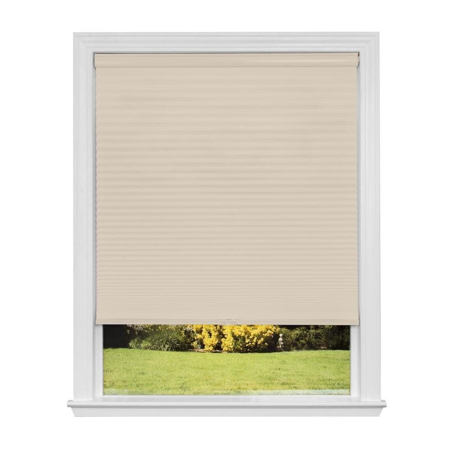 Redi Shade 47.625-in W x 72-in L Natural Blackout Cellular Shade