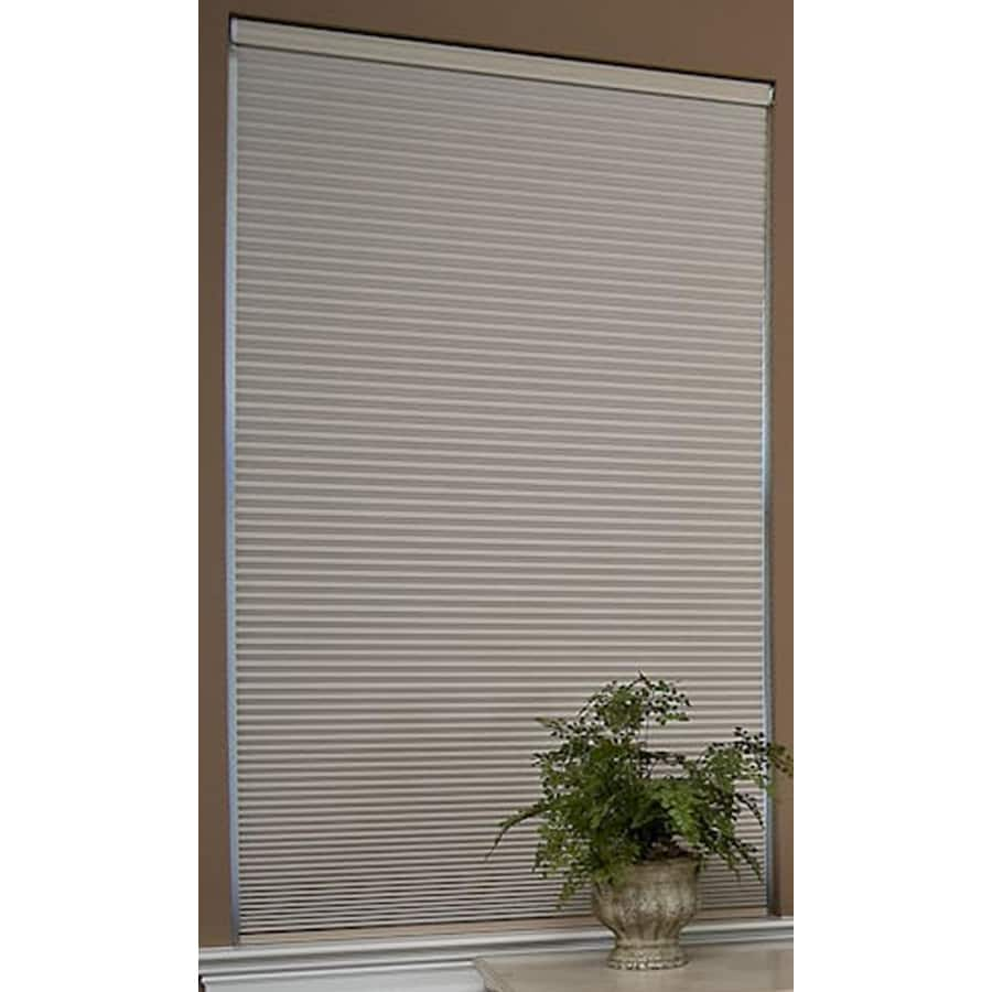Redi Shade 57.125-in W x 72-in L Natural Blackout Cellular Shade