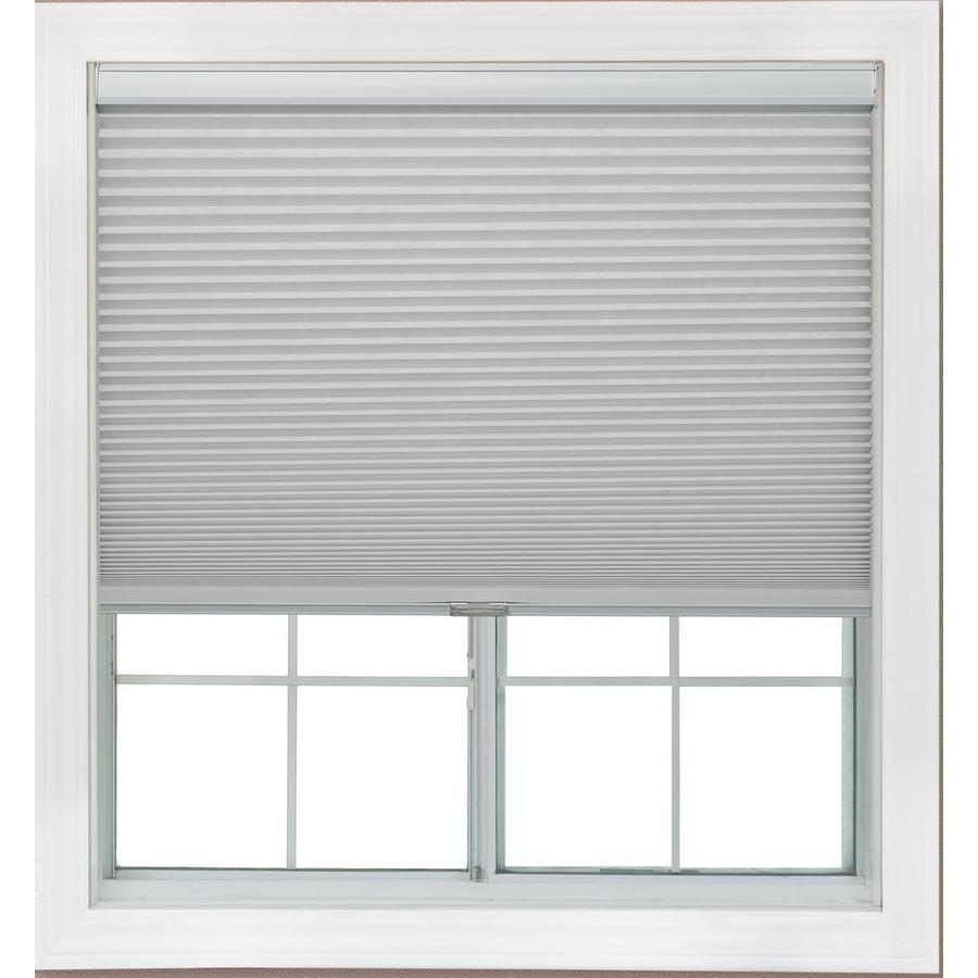 Redi Shade 55.25-in W x 72-in L Snow Blackout Cellular Shade