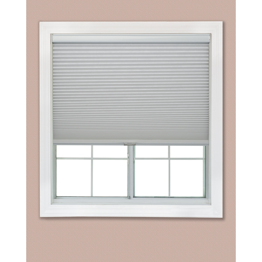 Redi Shade 55.375-in W x 72-in L Snow Blackout Cellular Shade