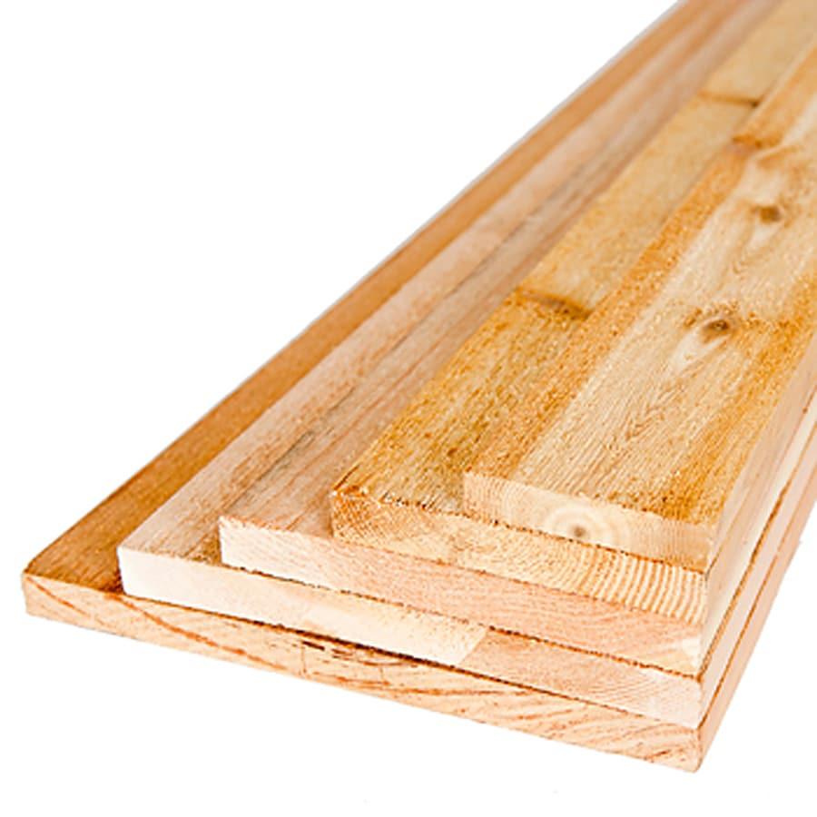 Cedar Board (Common: 8-ft; Actual: 0.6875-in x 0.75-in x 8-ft)
