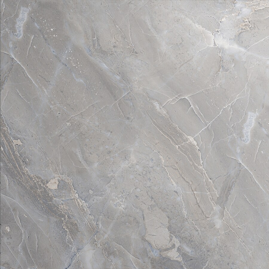 TOUSETTE Gray Ceramic Quartz Floor Tile (Common: 13-in x 13-in; Actual: 12.97-in x 12.97-in) Product Photo