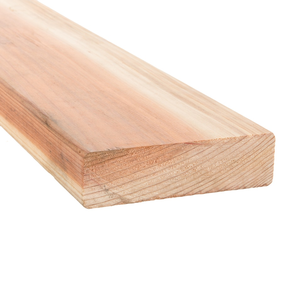 Top Choice Redwood Construction Wood Common (Actual: 1.5-in x 5.5-in x 16 Feet)