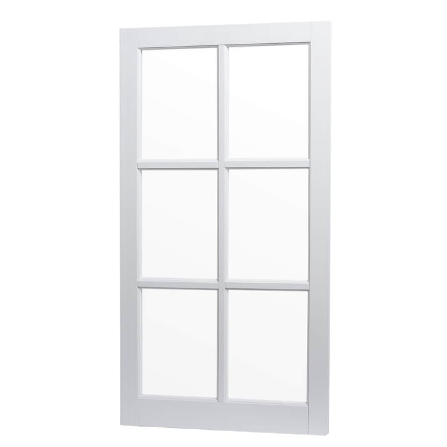 Project Source 22.25-in x 41.5-in Barn Sash Single Pane Single Strength Rectangle Replacement Window