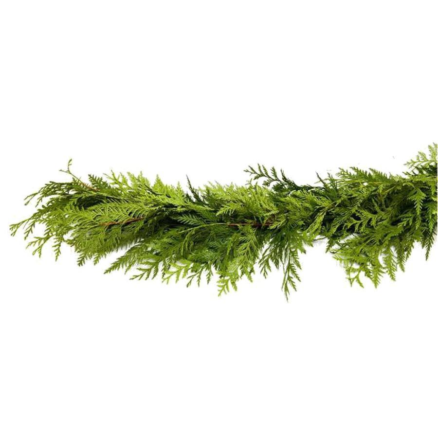 20-ft Fresh-Cut Cedar Garland