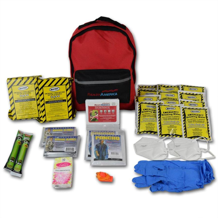 READY AMERICA Grab'n Go 2 Person Emergency Kit