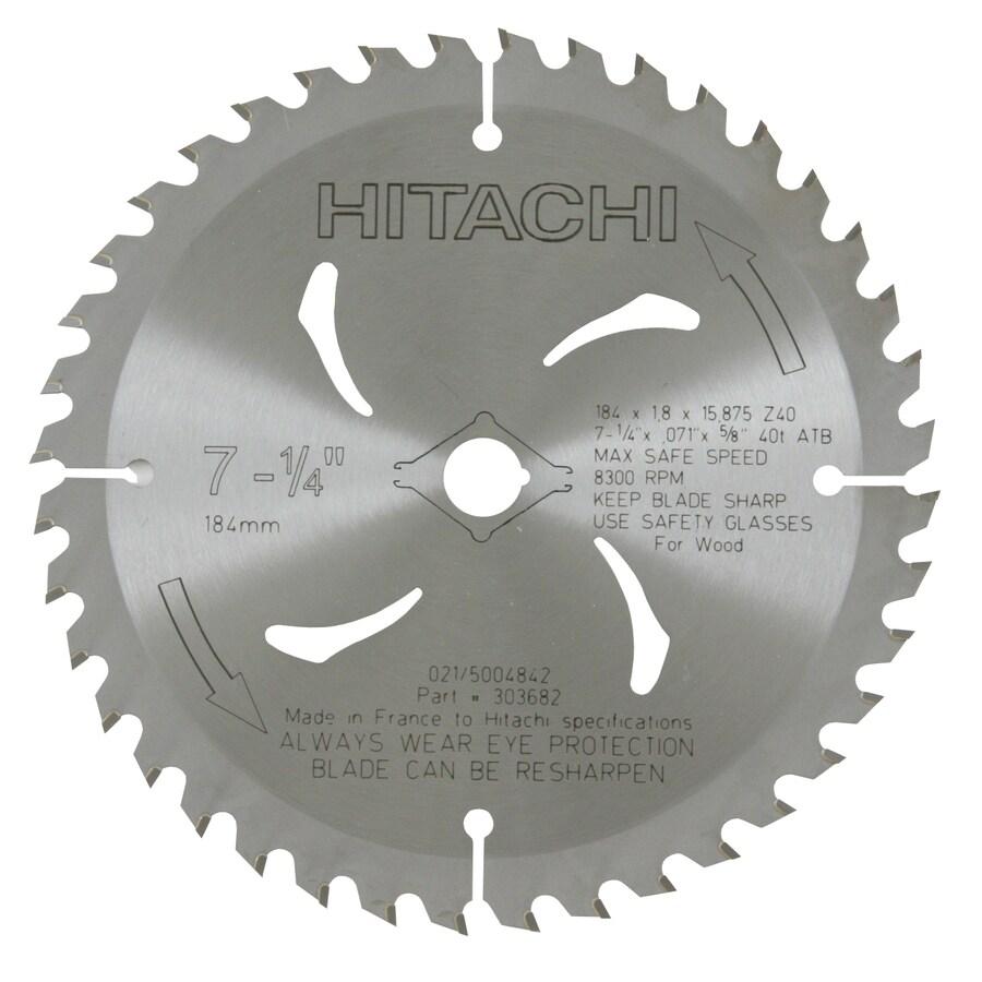 Hitachi 7-1/4-in Standard Circular Saw Blade