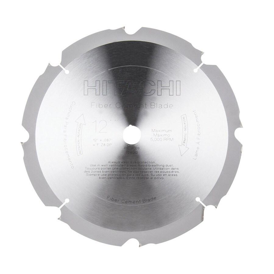 Hitachi 12-in 8-Tooth Dry Standard Diamond Circular Saw Blade