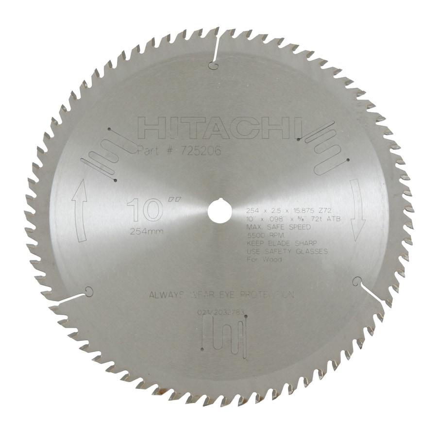 Hitachi 10-in Standard Circular Saw Blade