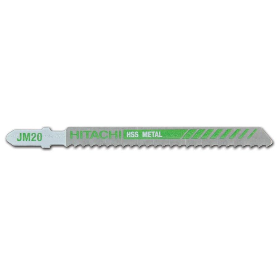 Hitachi 4-in T-Shank High-Speed Steel Jigsaw Blade