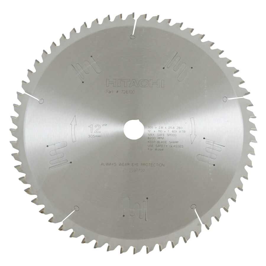 Hitachi 12-in Standard Circular Saw Blade