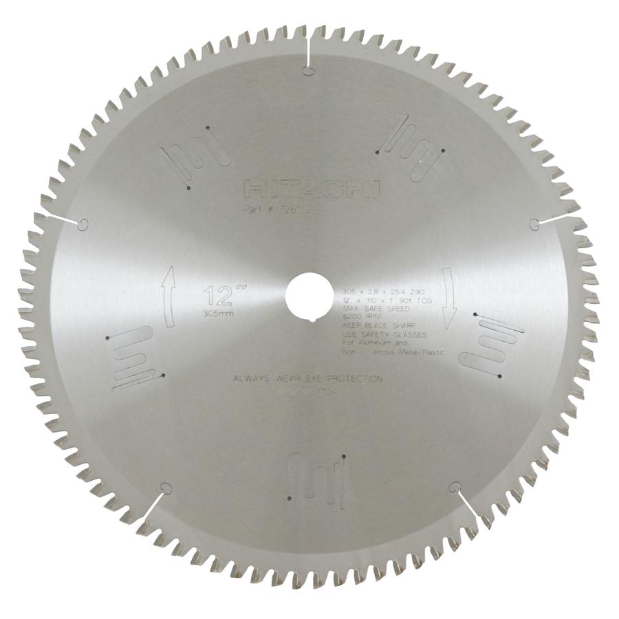 Hitachi 12-in Wet or Dry Standard Circular Saw Blade