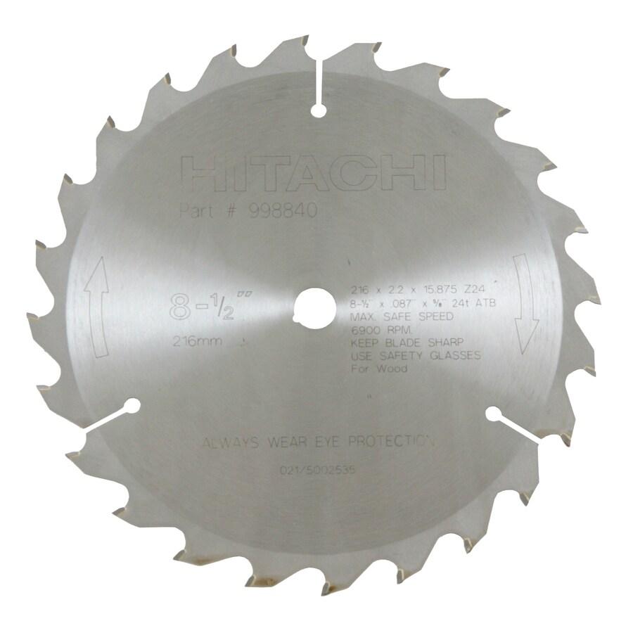 Hitachi 8-1/2-in Standard Circular Saw Blade