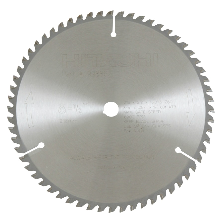 Hitachi 8-1/2-in Standard Circular Saw Blade
