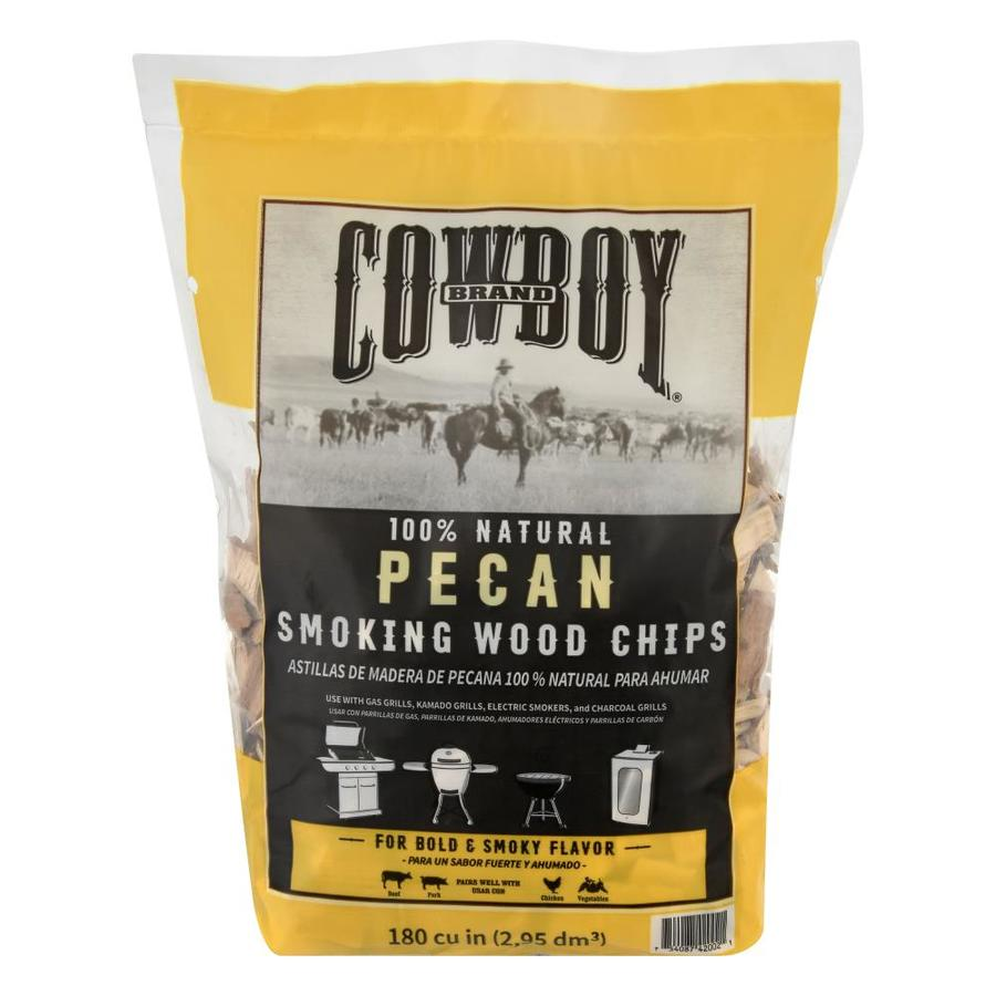 Cowboy Charcoal 180-cu in Variety Wood Chips