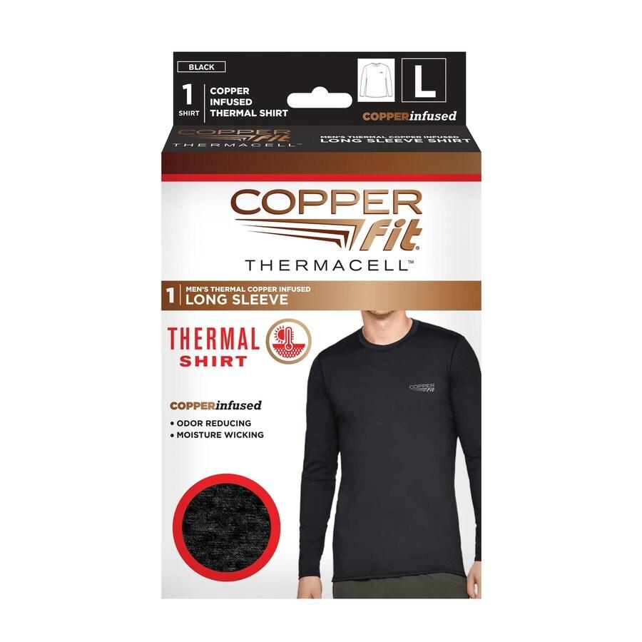 Copper Fit Mens Base Layer Compression Tight