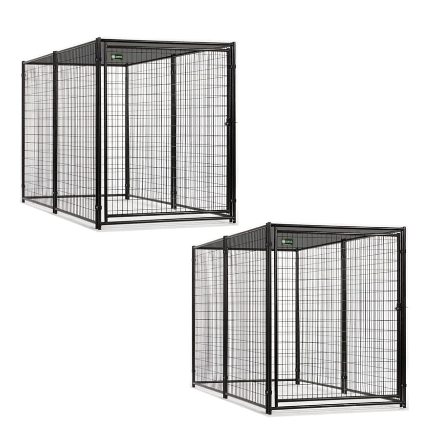 10-ft x 9.6-ft x 6-ft Outdoor Dog Kennel Preassembled Kit