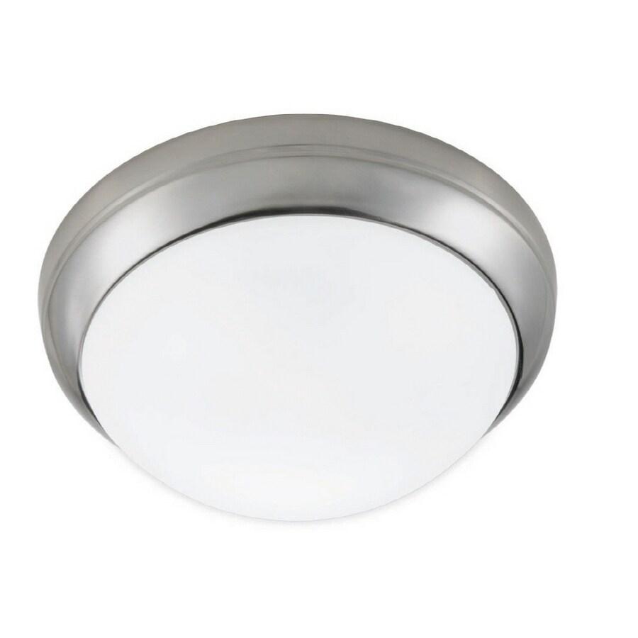 Portfolio 15-in Brushed Nickel Ceiling Fluorescent Light ENERGY STAR