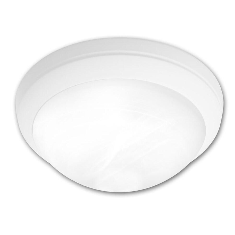 Portfolio Metro 15-in W White Ceiling Flush Mount Light
