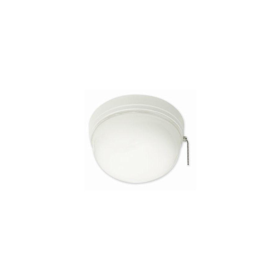 Portfolio White Flush Mount Fluorescent Light ENERGY STAR (Common: 1.5-ft; Actual: 8.37-in)