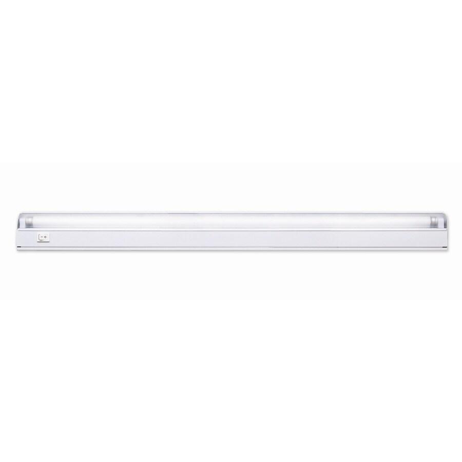Portfolio 22.87-in Hardwired Under Cabinet Fluorescent Light Bar