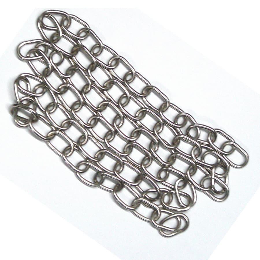 Good Earth Lighting 48-in Nickel Metal Pull Chain
