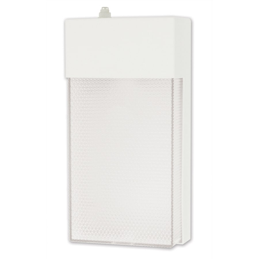 Utilitech 13-Watt White Dusk-To-Dawn Security Light