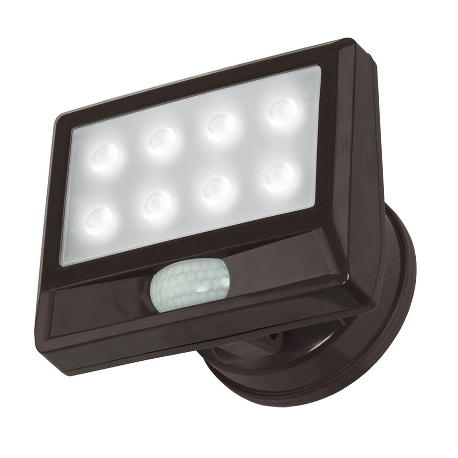 Utilitech 110-Degree 1-Head LED Motion-Activated Flood Light