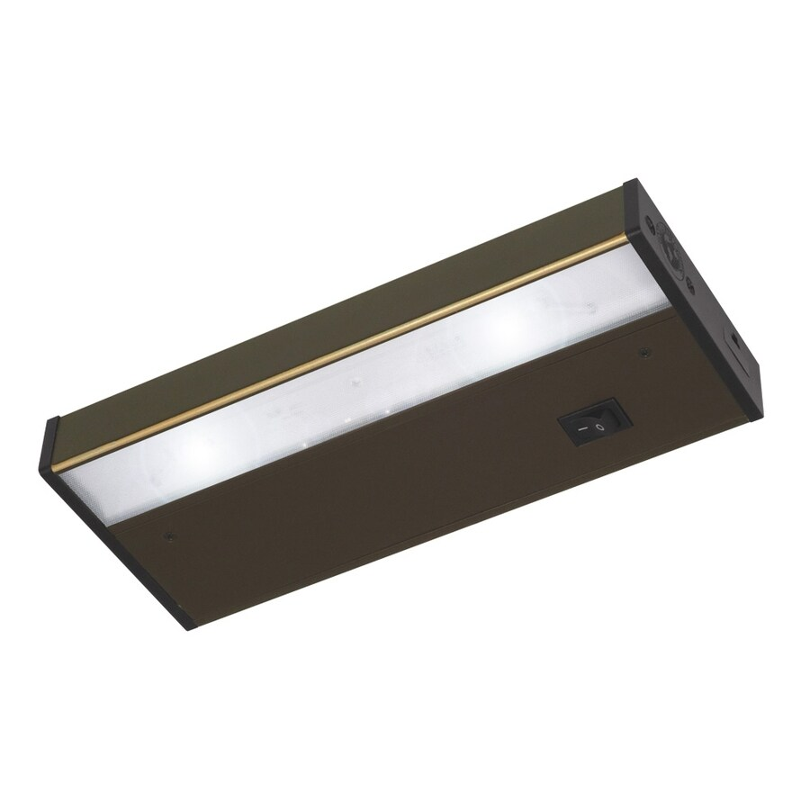 Good Earth Lighting Designer 9.12-in Plug-in Under Cabinet LED Light Bar