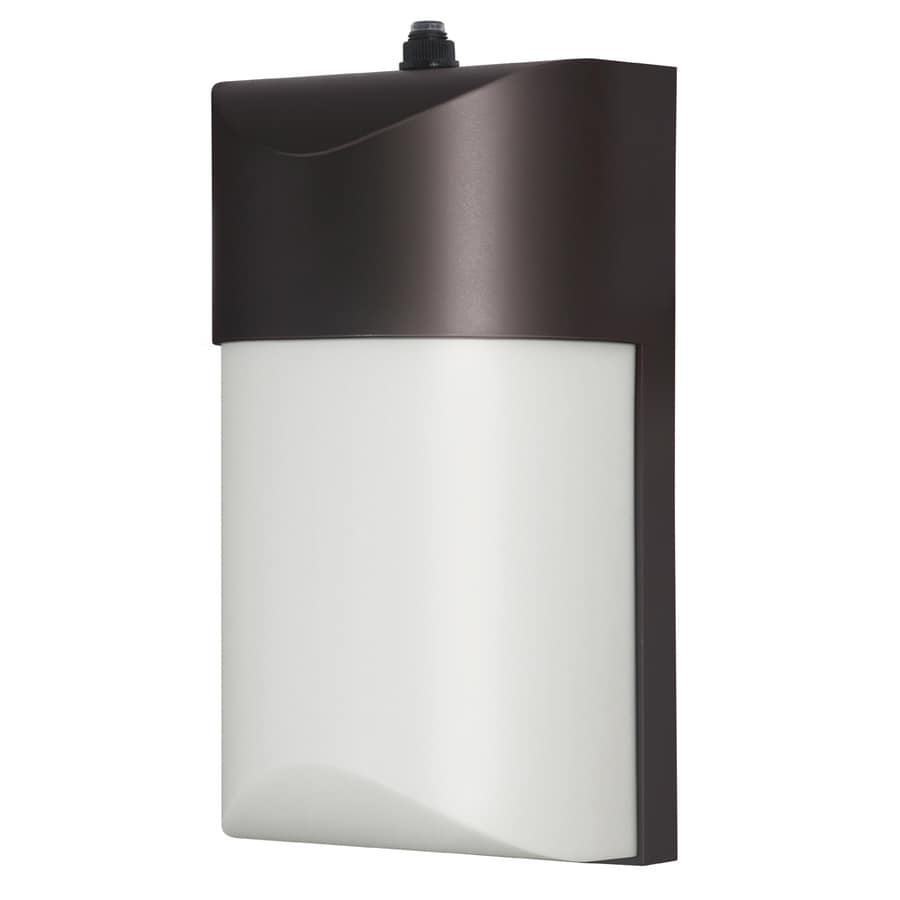 Shop Utilitech Pro 1224 Watt Bronze LED Dusk To Dawn
