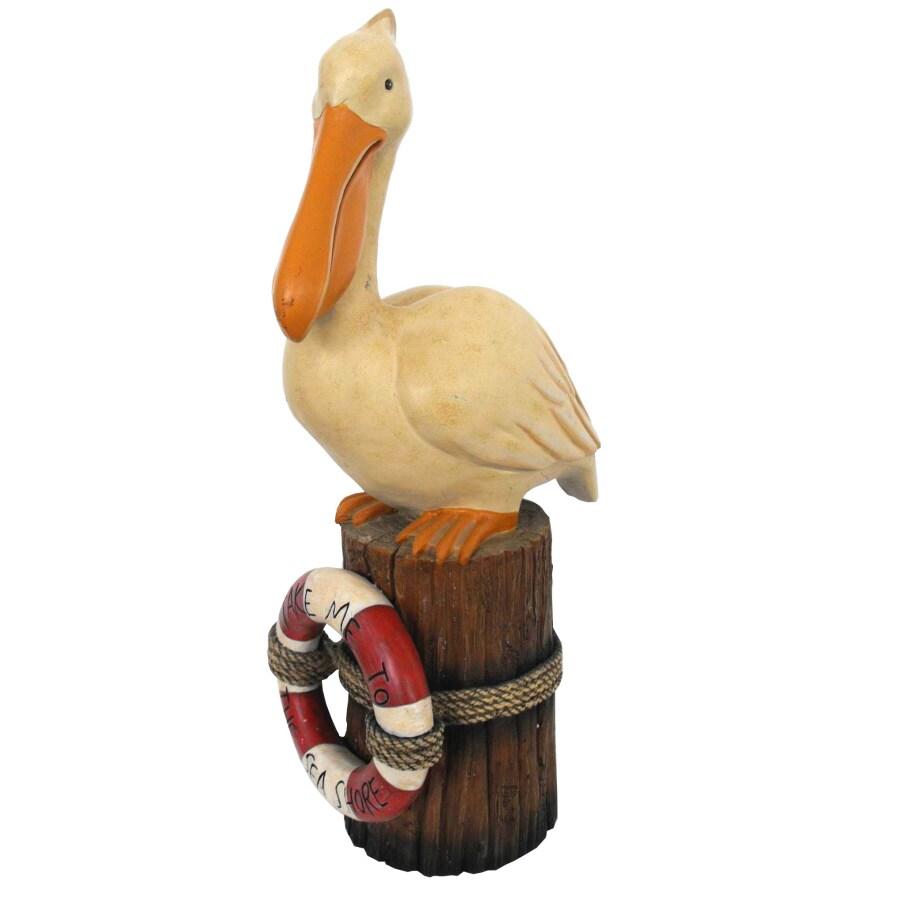 Meet You at the Seashore Pelican Statuary