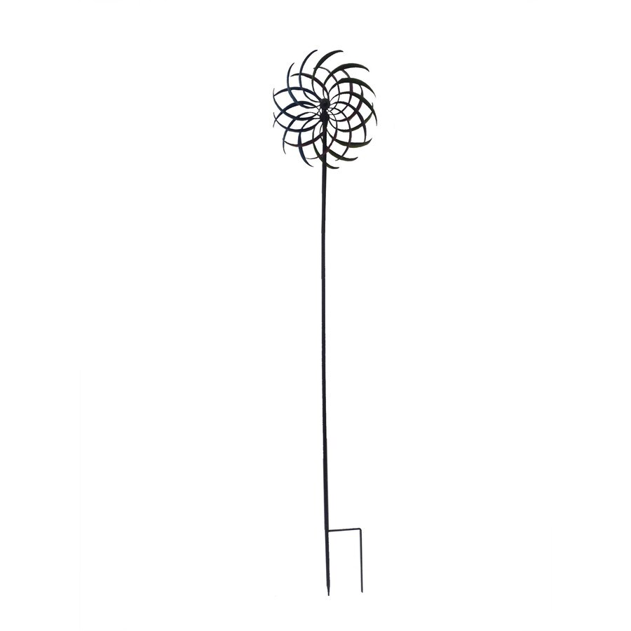 Kinetic Steel Wind Spinner with Wind Twister